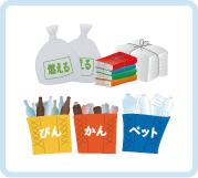 ゴミの出し方について